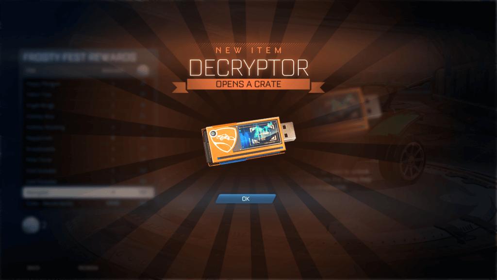 DECRYPTORゲット!