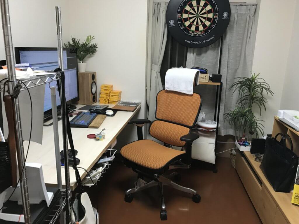現在の自室